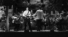 Adam Thomas Smith on stage Thursford 2016