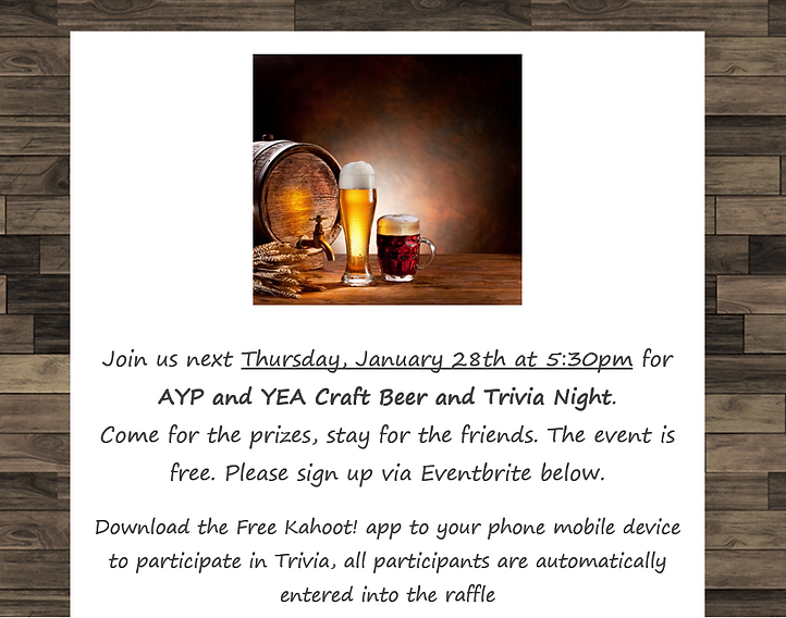 AYP_YEA Craft Beer and Trivia Night.PNG