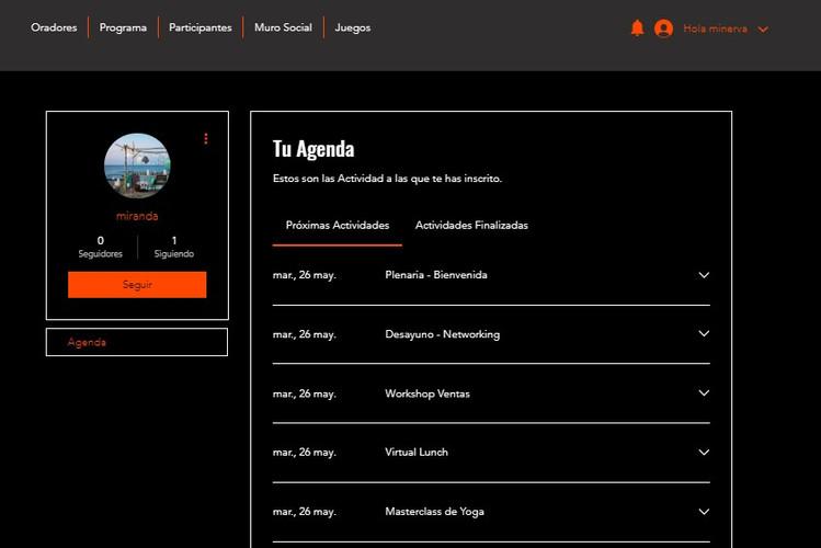 Programa interactivo