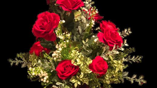 "'I LOVE YOU"" ROSES"