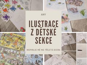 Ilustrace z dětské sekce