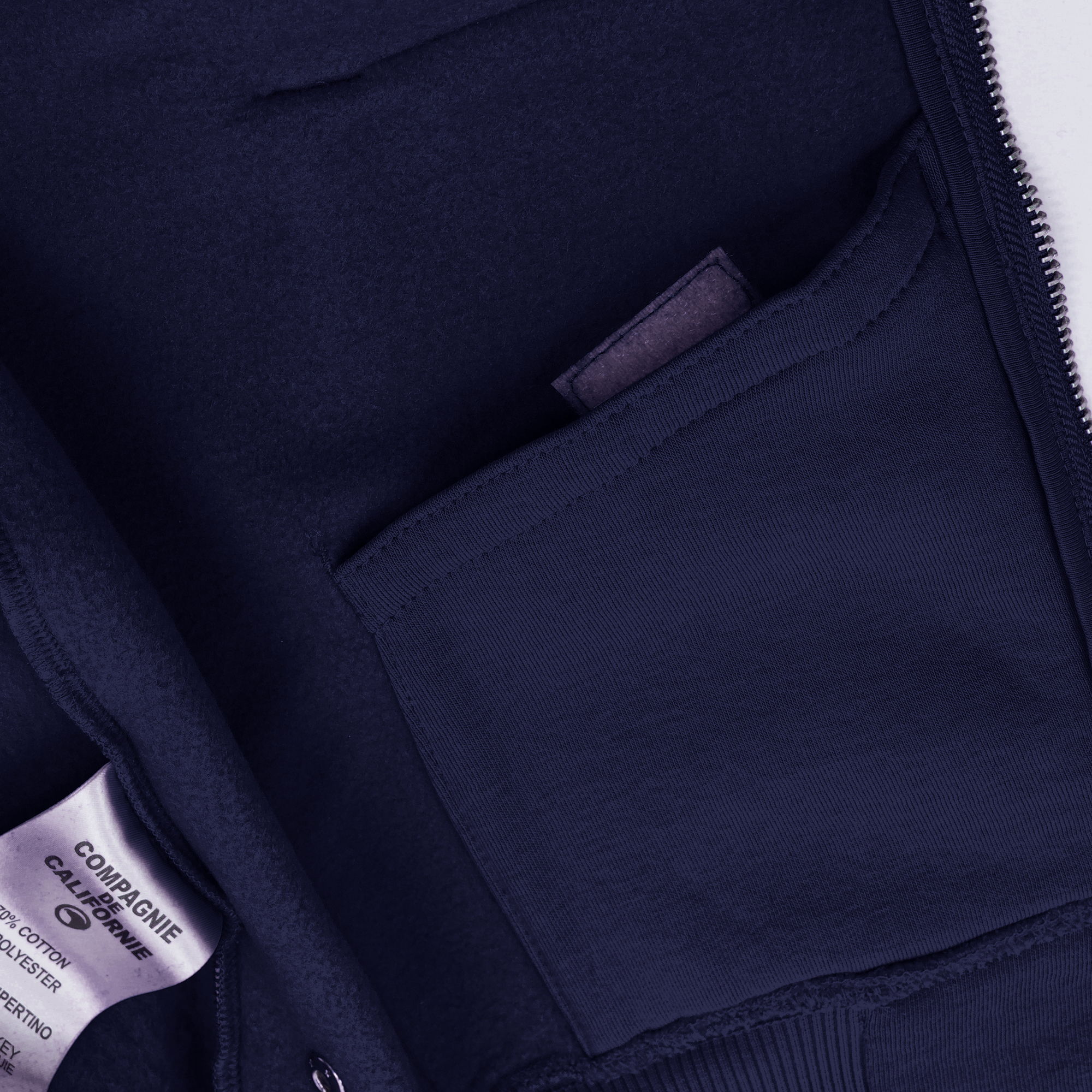 new cupertino hoodie zip navy 3