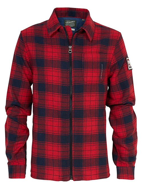 CHEMISE A CARREAUX FIRE RED