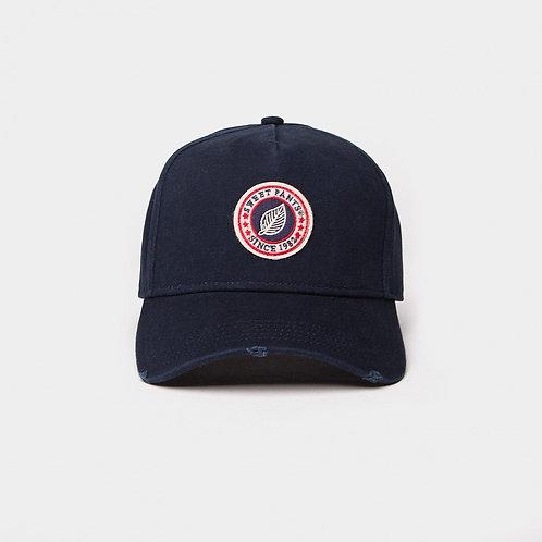 USED BASIC CAP VINTAGE INDIGO