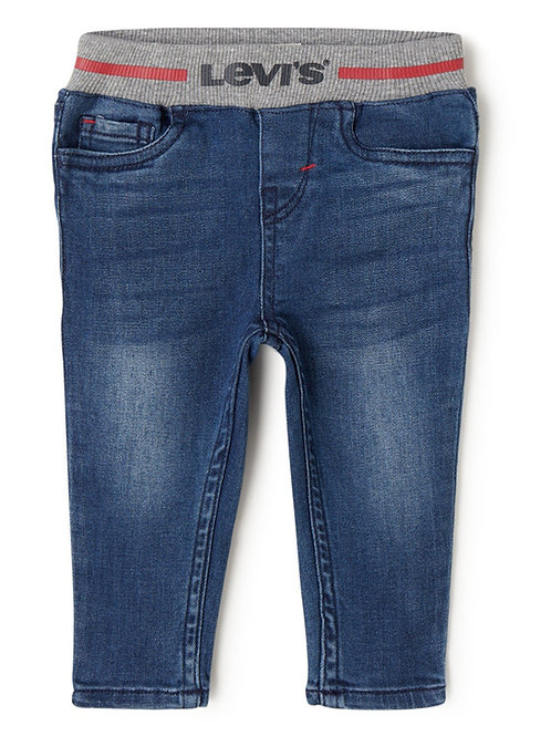 Jeans Pull-On Skinny BLUE