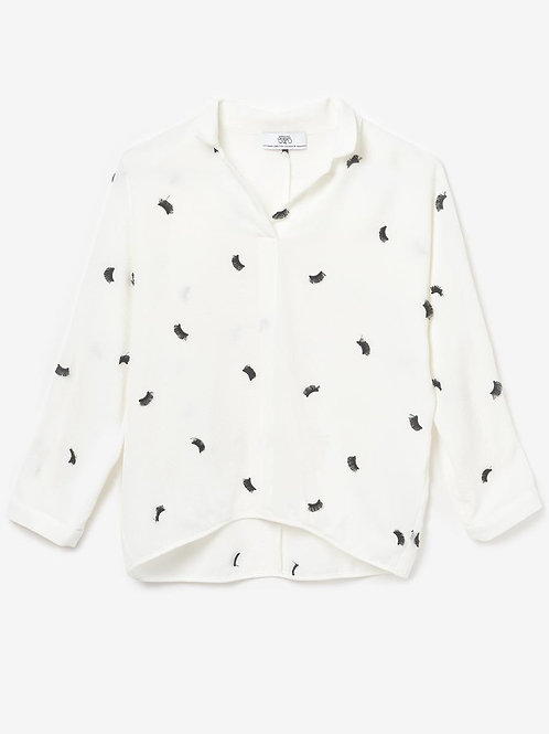 BLOUSE GLASHES A BRODERIES