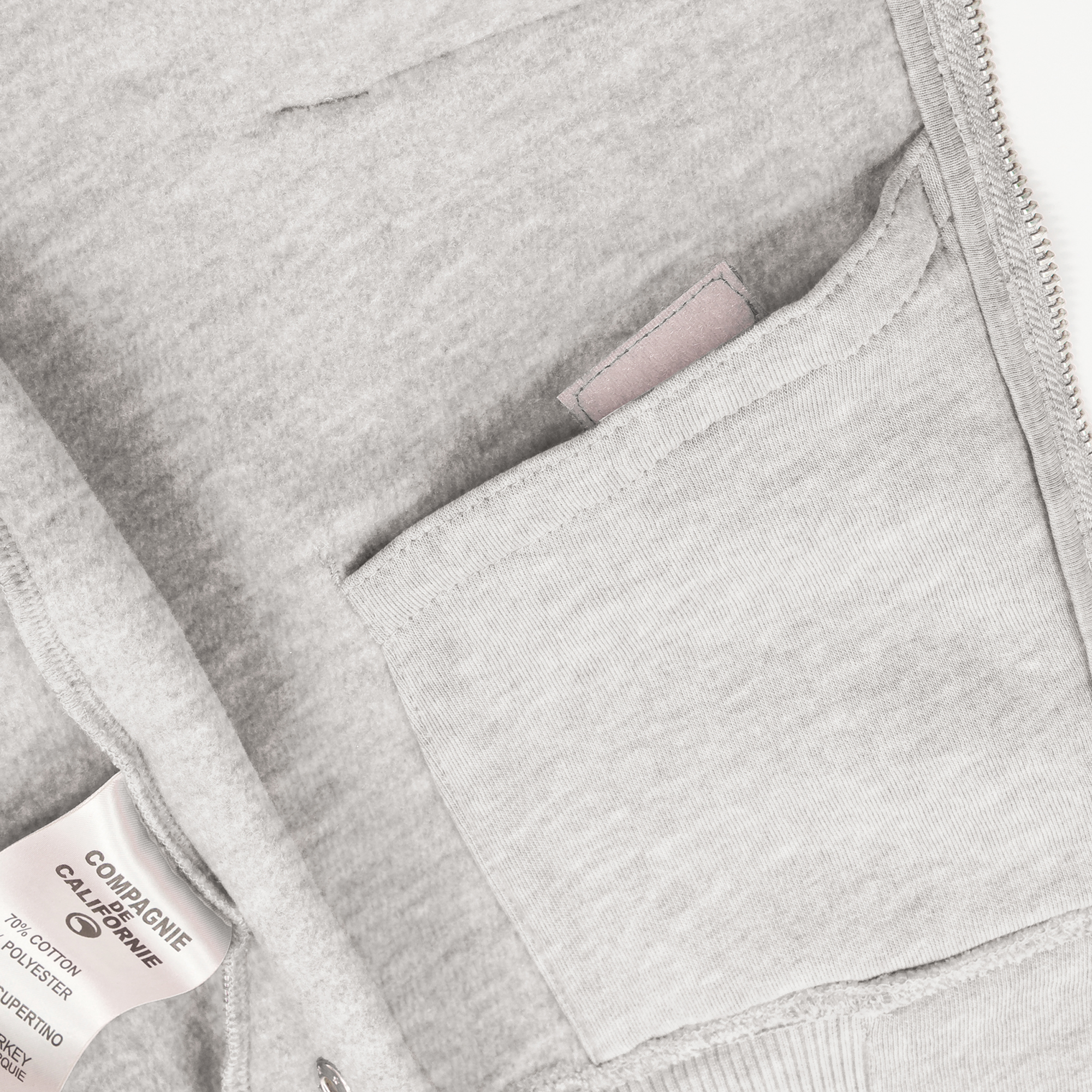 new cupertino hoodie zip heather grey 3.