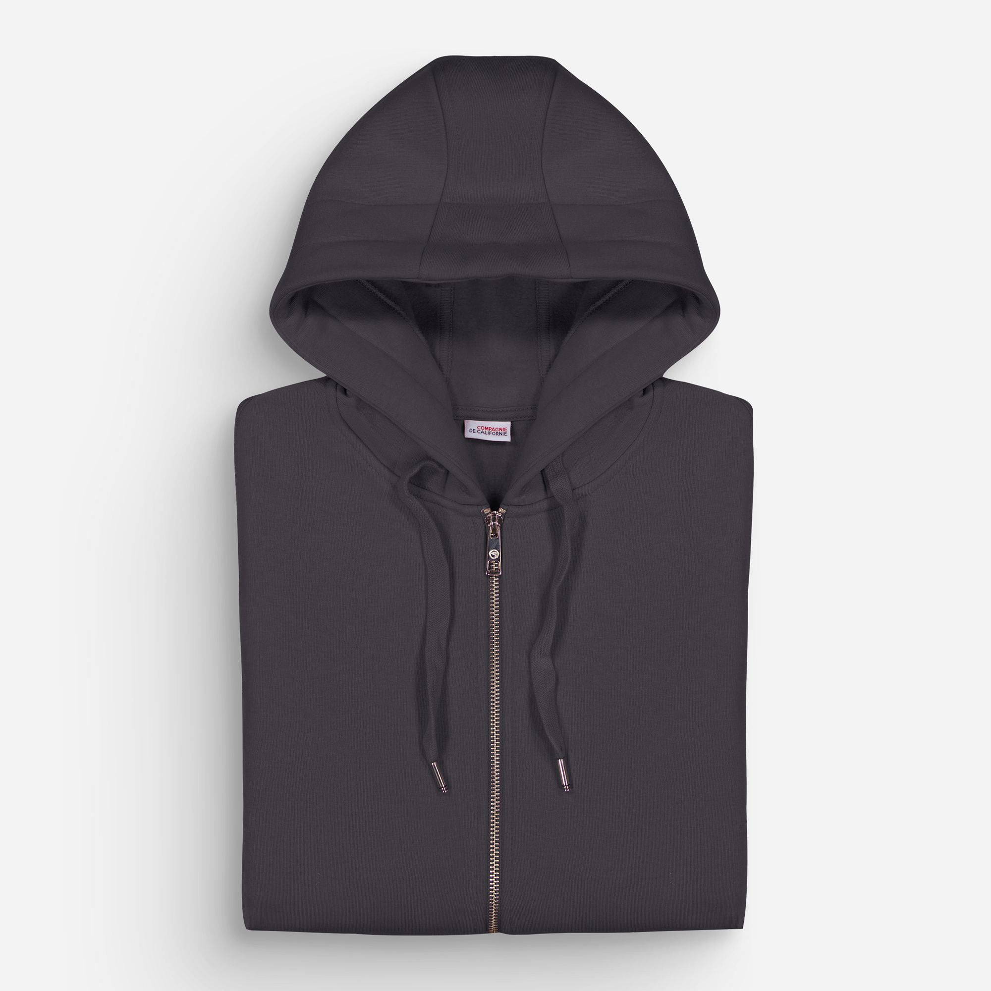 new cupertino hoodie zip anthracite