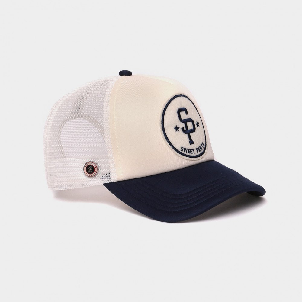 BASEBALL CAP OFF WHITE