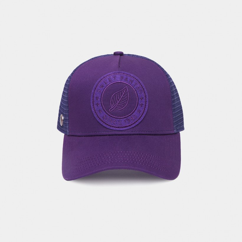 UNICOLOR CAP PURPLE