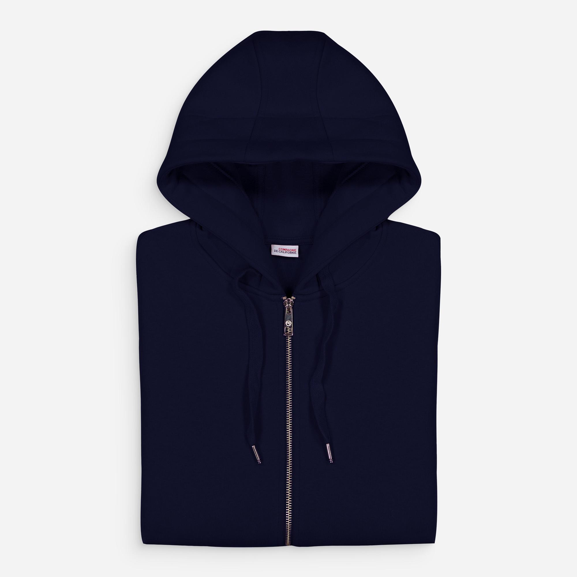 new cupertino hoodie zip navy
