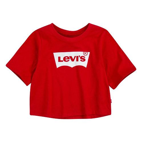 LEVI'S KIDS CROP TOP RED
