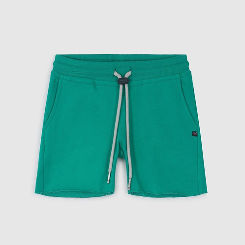 KID CUTOFF LASER GREEN SWEET PANTS