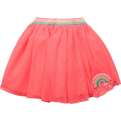 JUPE TULLE DOUBLEE COTON
