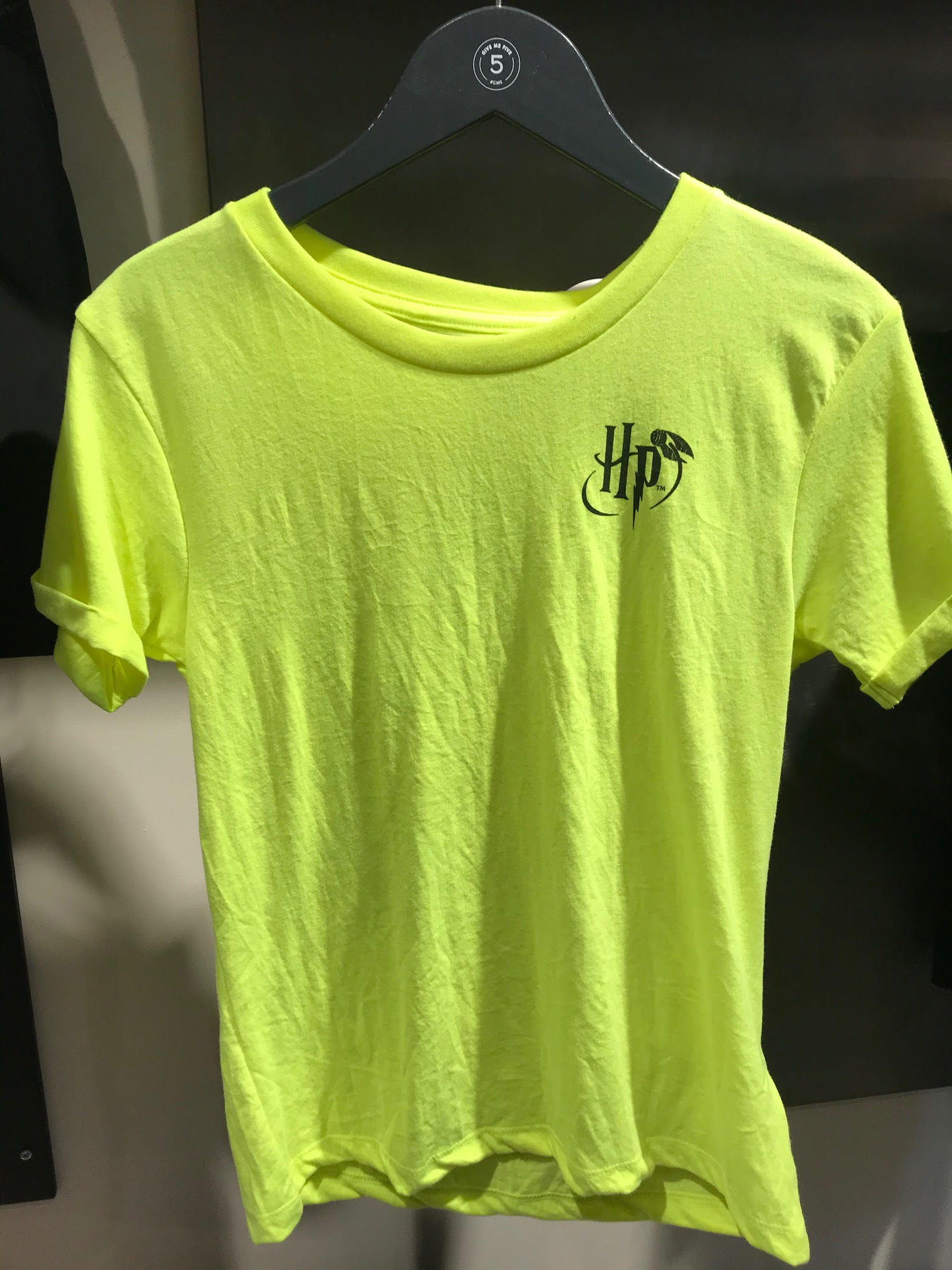 harry ss jaune fluo recto