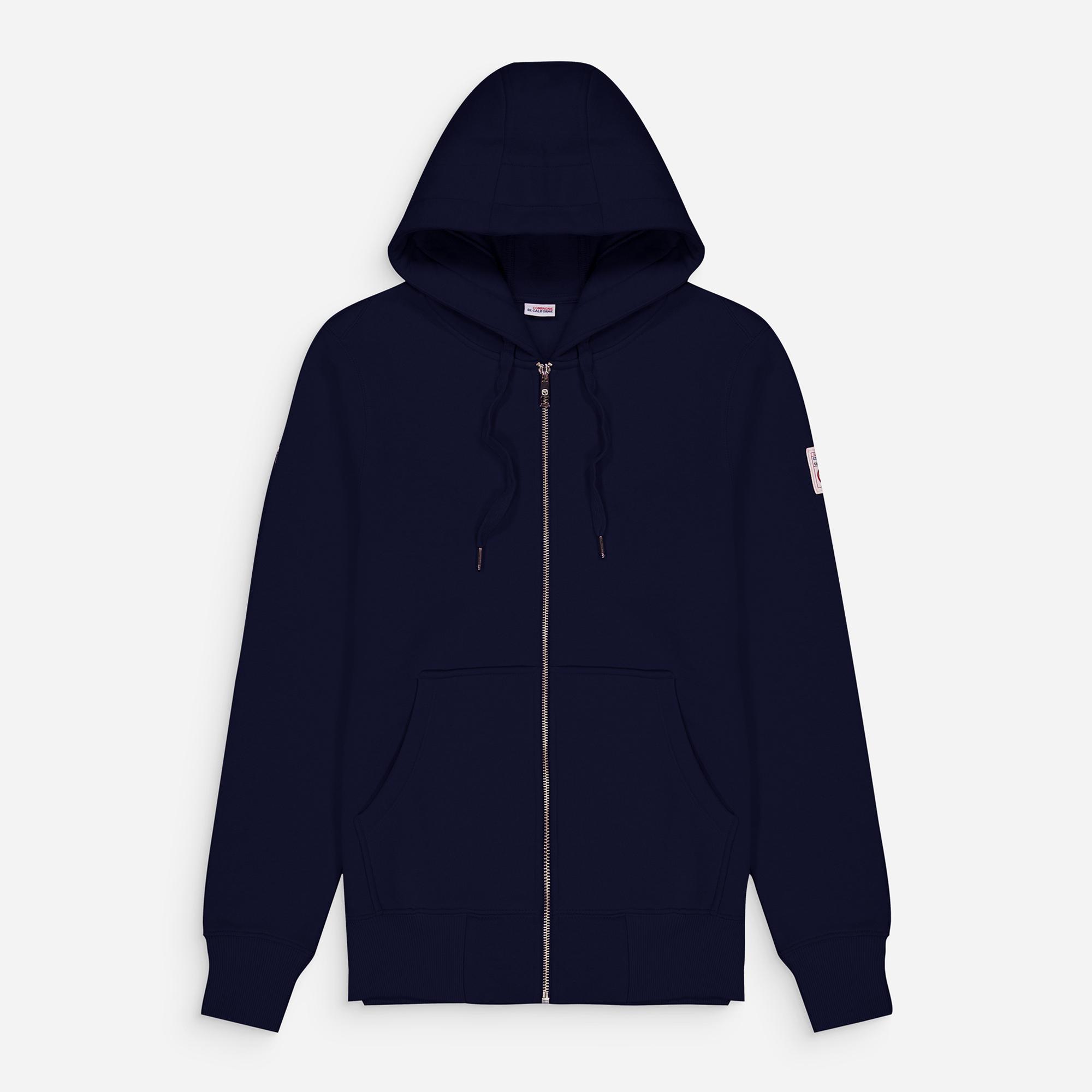 new cupertino hoodie zip navy 1