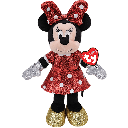 PELUCHE PAILLETEE MINNIE MOUSE