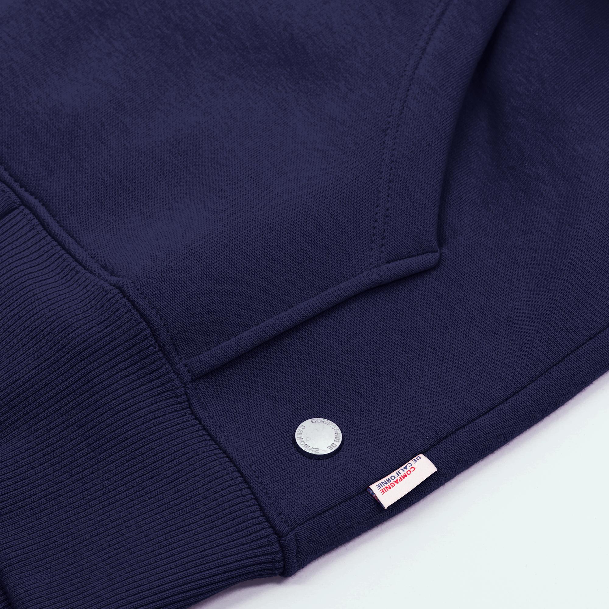 new cupertino hoodie zip navy 2