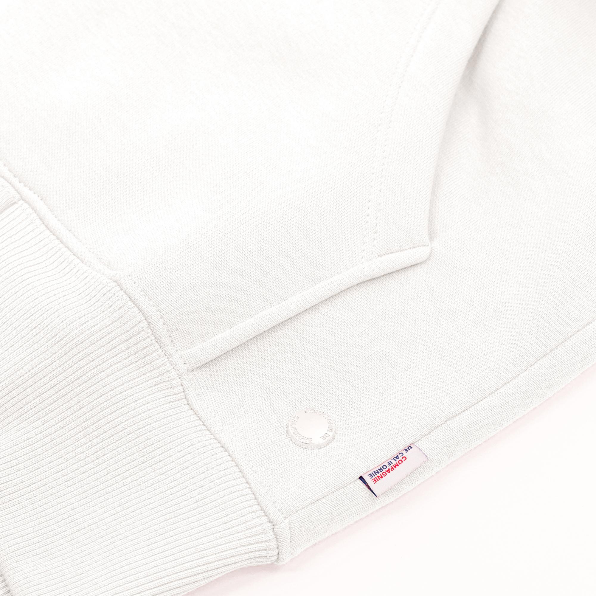 new cupertino hoodie zip blanc 2