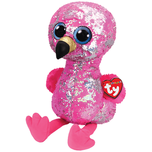 PELUCHE A SEQUINS PINKY