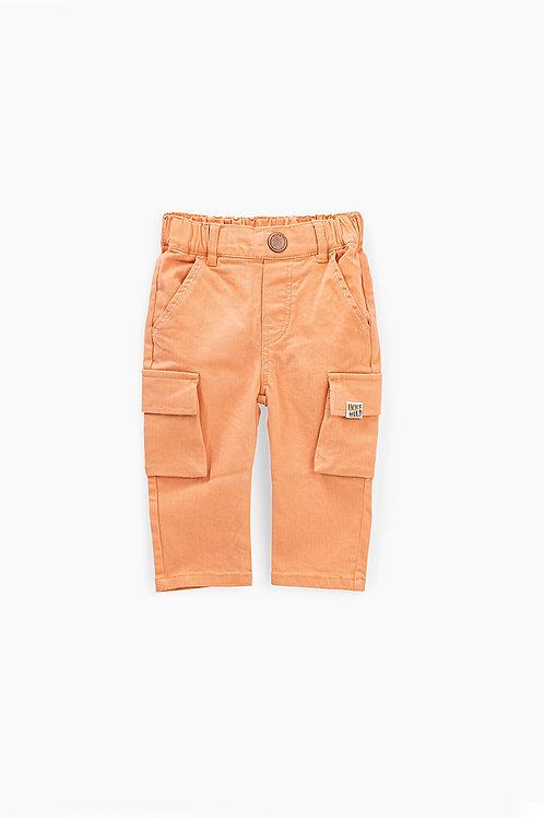 Pantalon battle orange blanchi bébé garçon