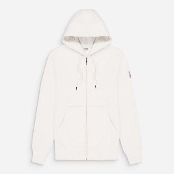 new cupertino hoodie zip blanc 1