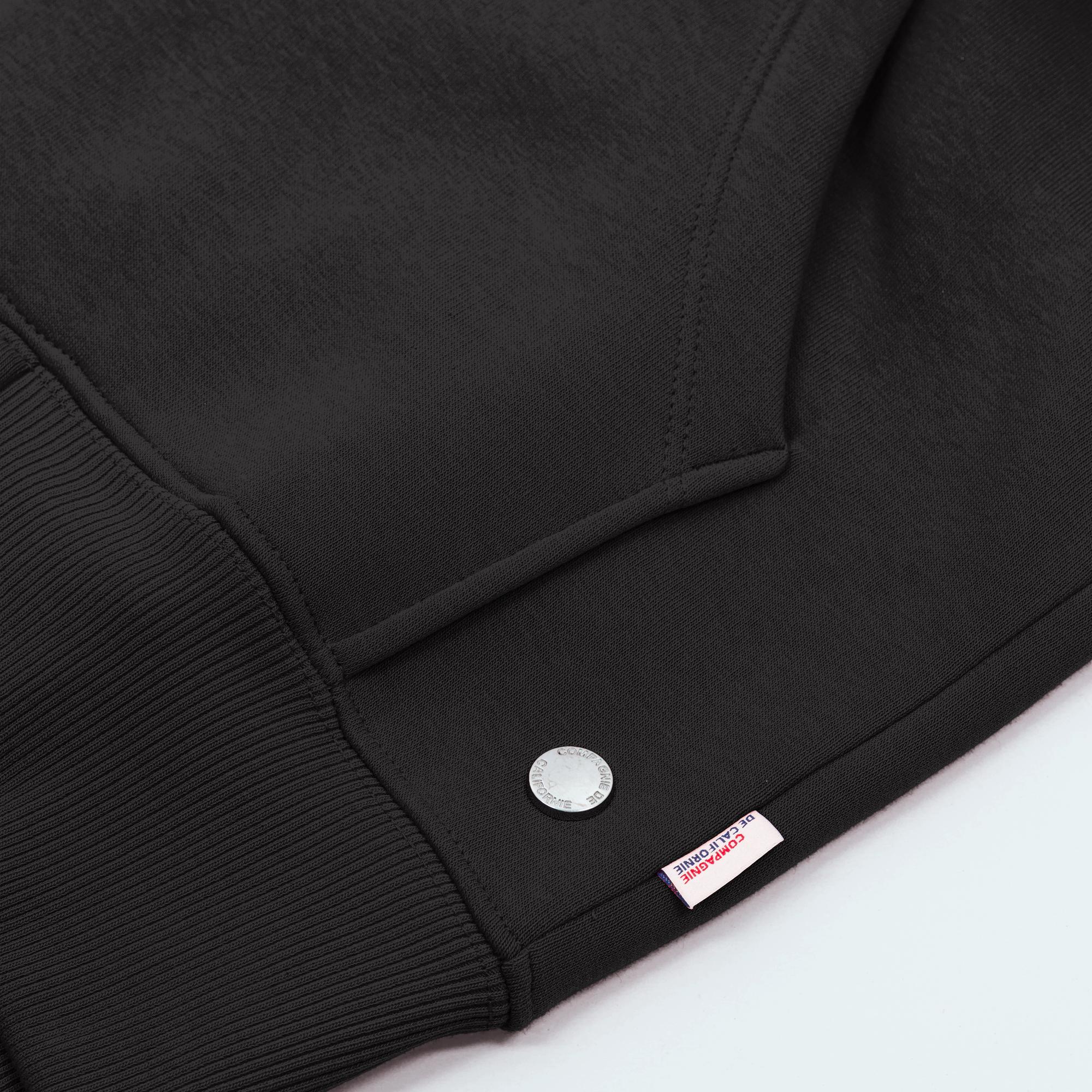new cupertino hoodie zip black 2