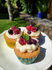 The Most Super Tasty Summer Berry Cupcake Recipe