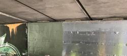 Zinc Layer Anode Bridge Pier Over-coating