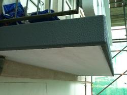 Zinc Layer Anode Balcony Over-coated