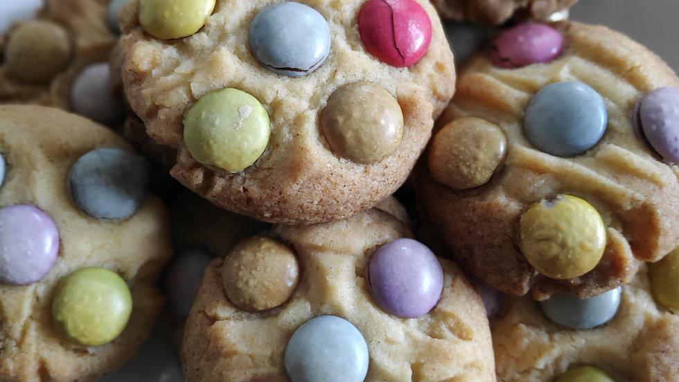 Smartie Butter Biscuits