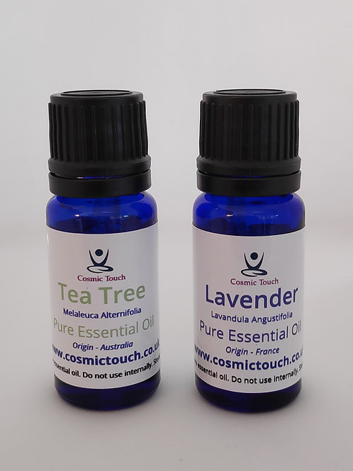 Lavender & Tea Tree Essential Oil Duo Pack