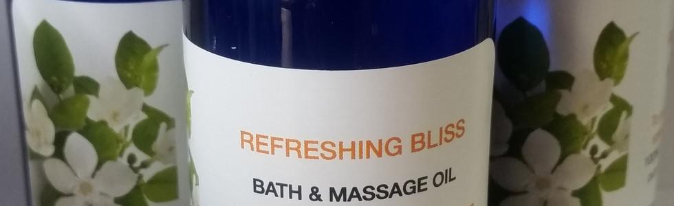 Relaxing Bath & Massage Oil