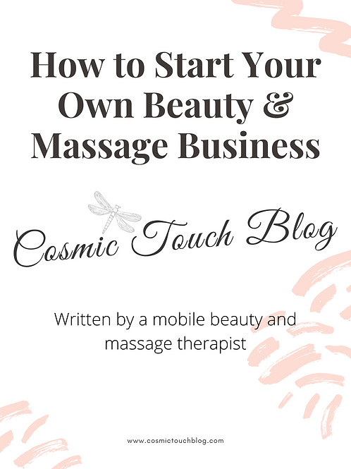 How To Start Your Own Beauty & Massage Business