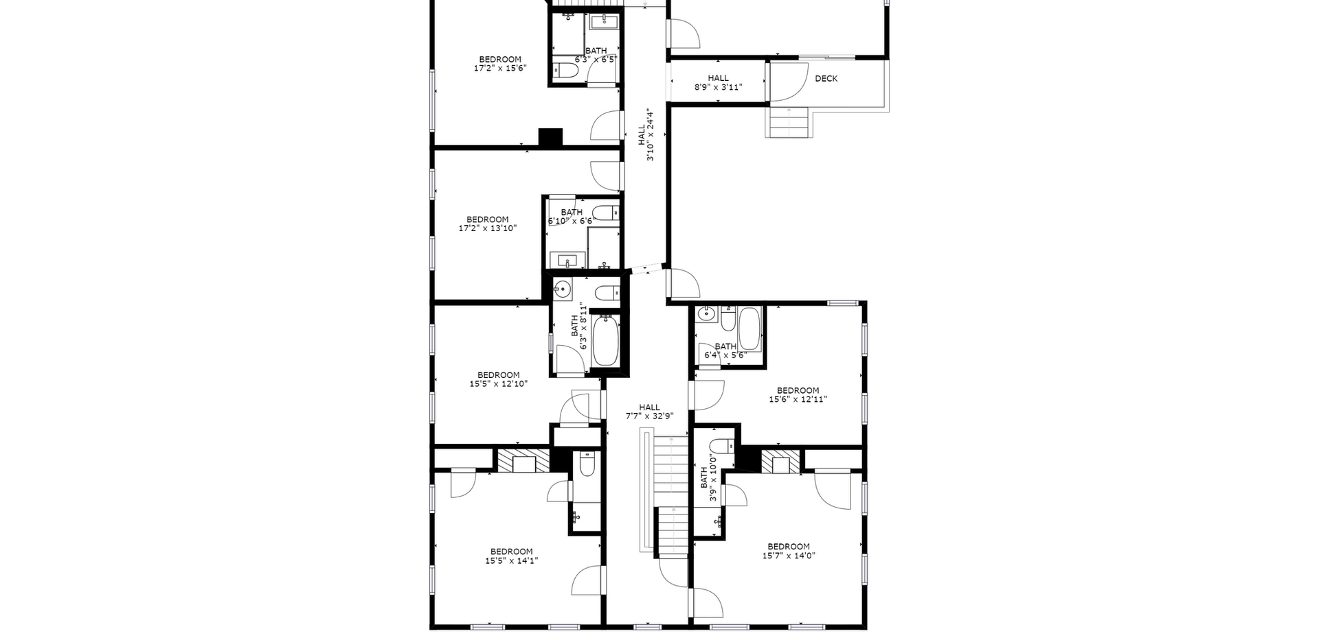 Holbrook House 2nd Floorplan