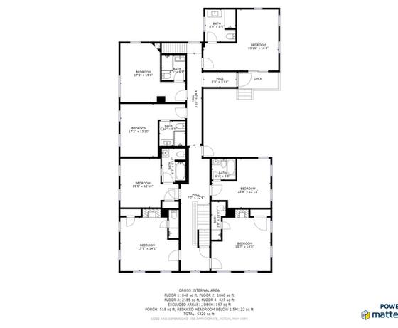 Holbrook House 2nd Floorplan