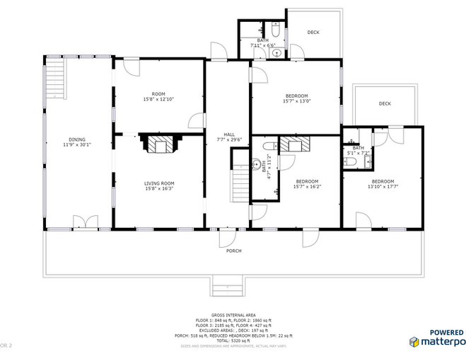 Holbrook House 1st Floorplan