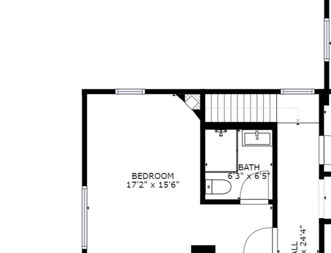 Holbrook House Beachcomber Floorplan