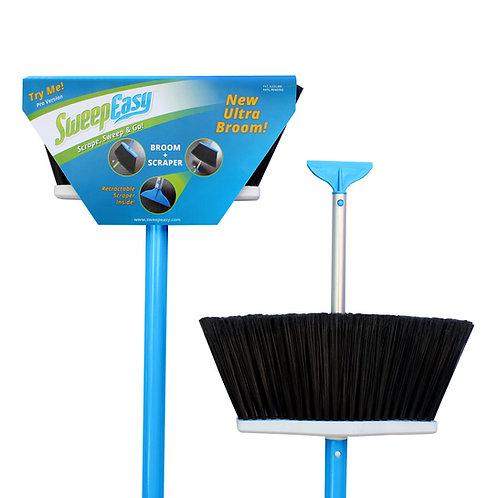 Blue SweepEasy scrape and go broom