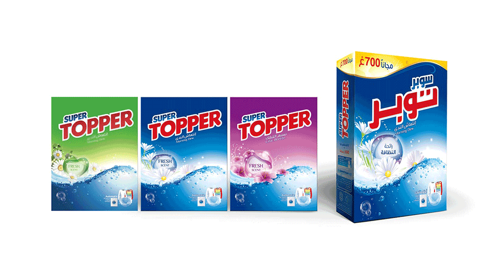 Super-Topper Packaging