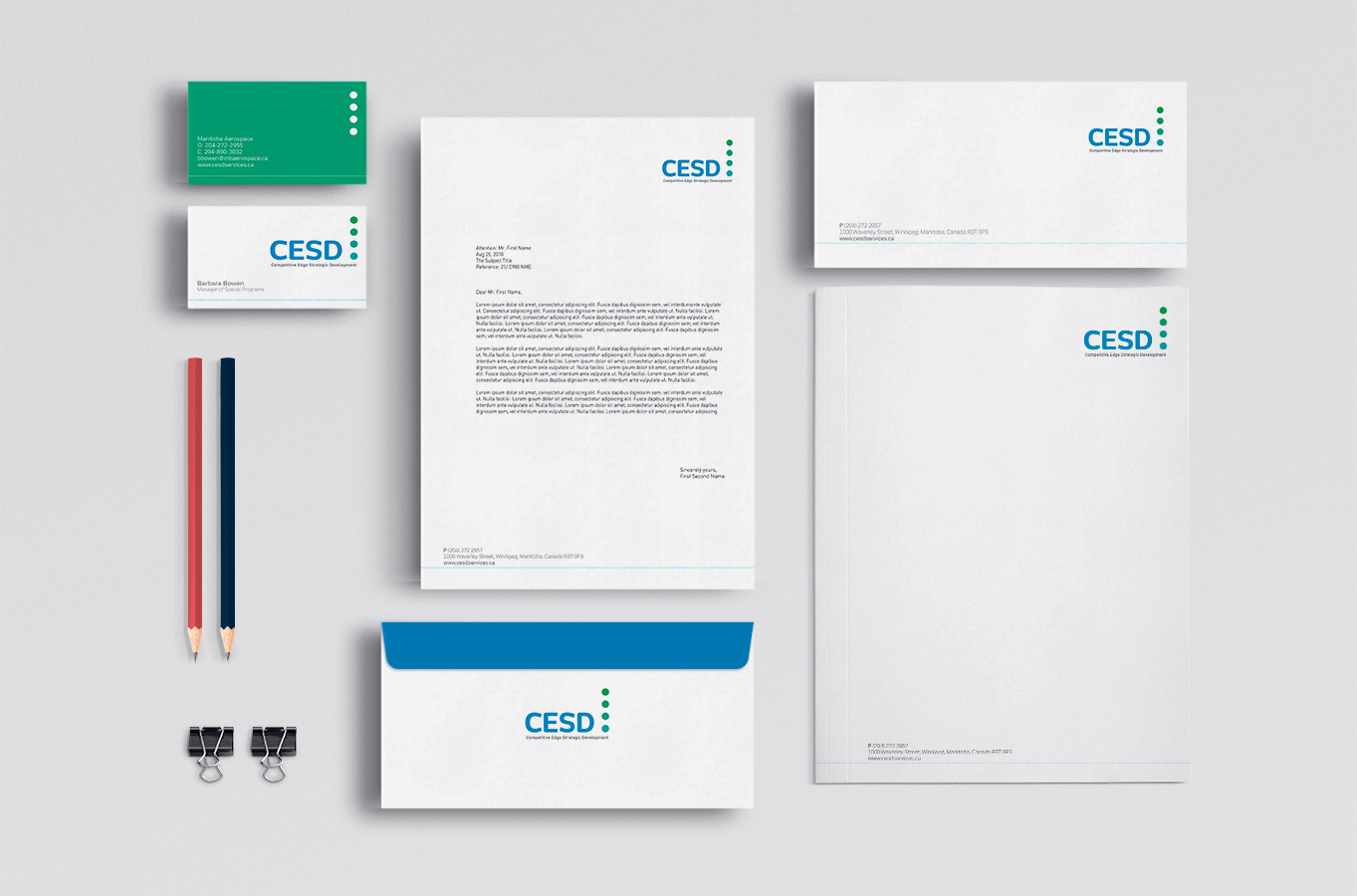 CESD Stationery