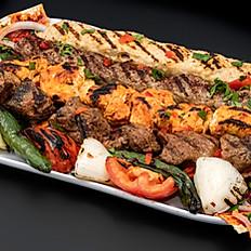 Kabab cubes Platter