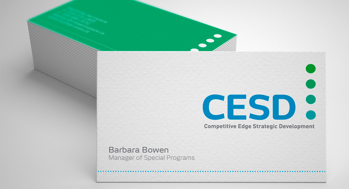 CESD business card