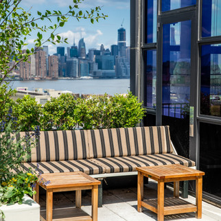 Wythe Hotel Rooftop NYC skyline