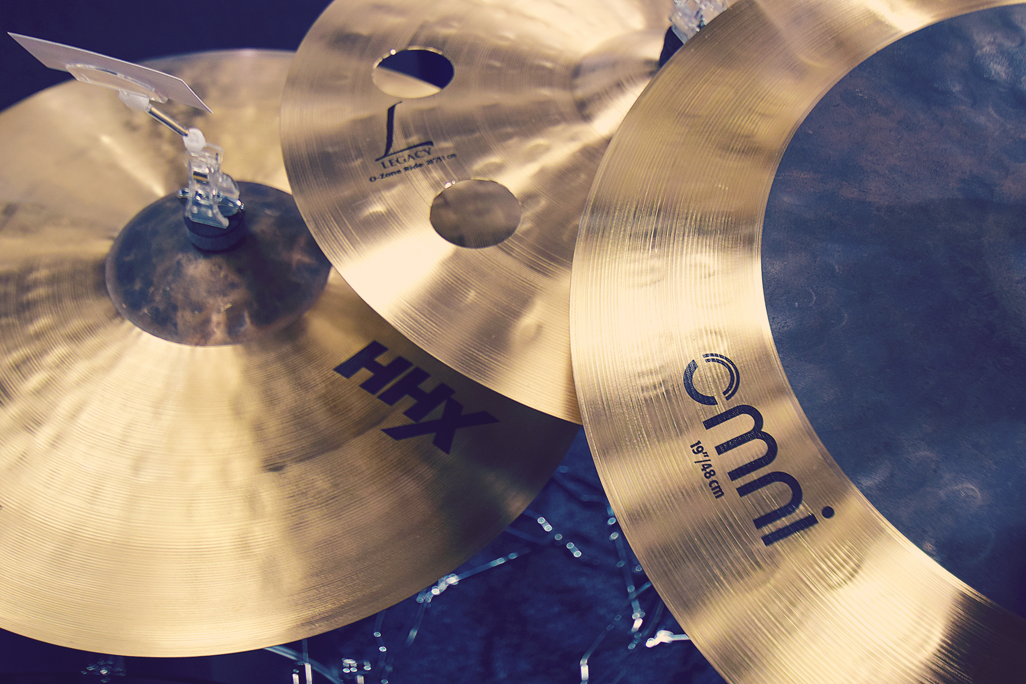 Sabian at London Drum Show