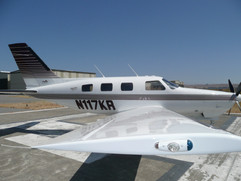 1997 Piper Malibu Mirage  N117KR 021.jpg