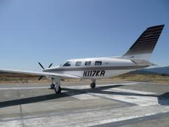 1997 Piper Malibu Mirage  N117KR 004.jpg
