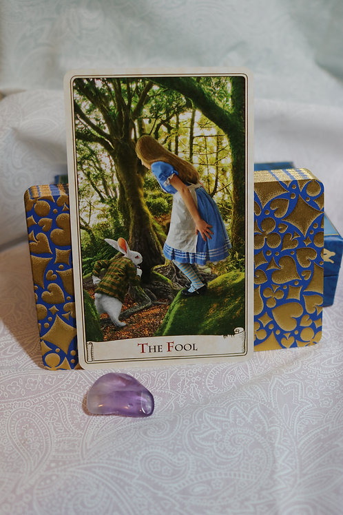 Magical 3 Card Reading w/ Alice In Wonderland Deck by Baba Studio