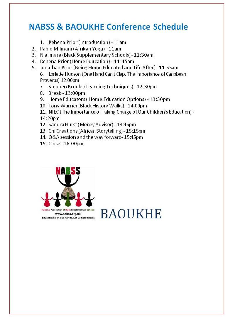 BAOUKHE & NABSS 2009 participants.