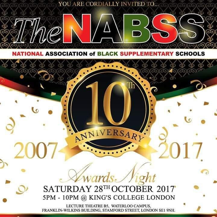 NABSS 10th Anniversary Awards 2017